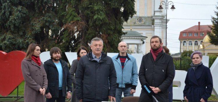 «Європейська Солідарність» офіційно заявила про підтримку Богдана Шиби у другому турі виборів мера Луцька. ФОТО